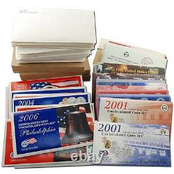 1968-2009 First 40 Years United States US Mint Sets Complete Set P & D-Mint