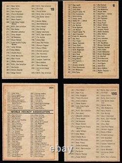 1972 73 OPC O-Pee-Chee complete set 341 cards ex-mt to nr mint Orr KSA 6 Wha Nhl