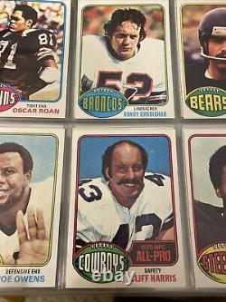 1976 Topps Football Complete Set (NM To Mint) With Walter Payton Rookie Sharp