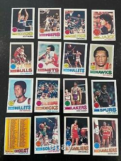 1977-78 Topps Basketball Complete Set #s 1-132