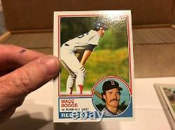 1980- 1981- 1982- 1983 Complete Topps Baseball Sets Loaded withRCs NICE! NICE