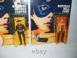 1980 Gabriel Lone Ranger Tonto Cody Cavendish Custer Horses Complete Lot Set