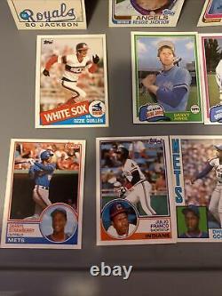1981 1982 1983 1984 1985 1986 Topps TRADED Complete Sets No Cal Ripken Jr Card
