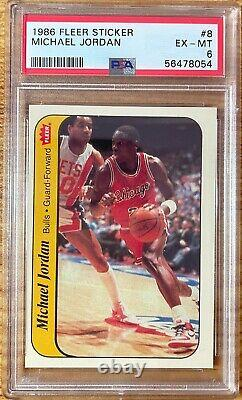 1986 Fleer Basketball Complete Set with Stickers Very High End One Owner
