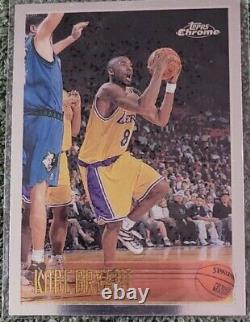 1996 97 Topps Chrome NBA Complete Set Kobe, Iverson, Ray Allen Rookies