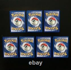 1999 Pokemon Base Set COMPLETE Uncommon Com Cards /102 Lot Unlimited Edition NM+