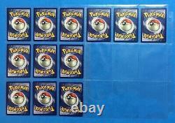 1999 Pokemon JUNGLE Set COMPLETE Non Holo Cards #17-64 Unlimited Edition Lot NM