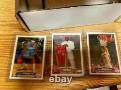 2003/04 Topps Basketball Complete Set LeBron James Wade Bosh MINT FROM PACK