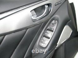 2014-2017 Infiniti Q50 Interior Seats Door Panels Complete Set Oem Lot2158