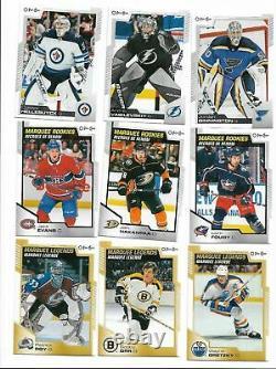 2020 2021 O Pee Chee OPC Hockey Complete Mint 600 Card Set 100 ShortPrints 20 21