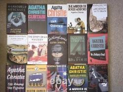 85 Agatha Christie collection books Facsimile complete set + all magazines mint