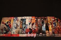 Amazing Spider-Man 1-18 Complete Comic Lot Run Set Marvel Spider-Verse