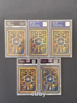 Ancient Mew Promo Complete Set Holofoil Psa 10 Gem Mint (5-lot)