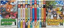Animal Land Complete English Manga Set Volumes 1-14 Brand New Lot