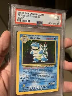 Base Set 2 Complete Holo Collection PSA 9 10 with Swirls Pokemon Mint