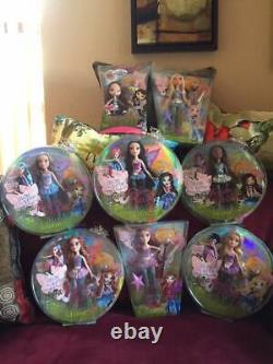 Bratz Fairiez Pixies lot of (8) Complete set, plus Bratz Fairiez Kid. TRU Excl