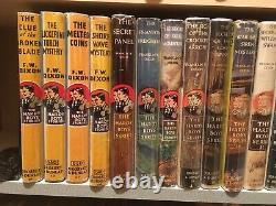 COMPLETE 40 volume SET LOT HARDY BOYS BOOKS & FAUX DJ