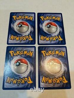 COMPLETE Base Set Holo Lot 16/16 Pokemon Cards / Charizard 4/102 NM-LP Authentic