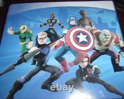 COMPLETE DISNEY INFINITY 2.0 Marvel Super Heroes Power Disc Lot Set 40 With Binder