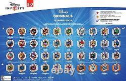 COMPLETE DISNEY INFINITY 2.0 Originals Power Disc Lot Set of 40 With Album NEW