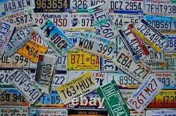 COMPLETE SET ALL 50 STATES USA LICENSE PLATES LOT of Good License Plate Tags