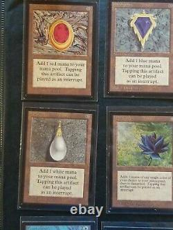 COMPLETE SET International Collector's Edition, MAGIC MTG, 1993, Near mint NM