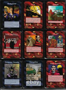 COMPLETE Set All 409 UNLIMITED Illuminati INWO Card Game HIGH GRADE MINT
