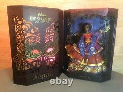 Complete Doll Set Lot of 5 Disney Store LE Designer Series Midnight Masquerade
