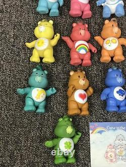 Complete Lot of 16 Vintage 1984 Care Bears Poseable Figures Kenner Entire Set