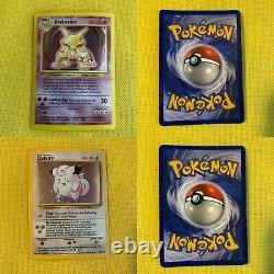 Complete NM-Mint Base Set Pokemon Card Collection 102/102 Original Charizard