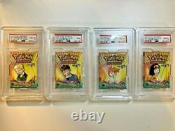 Complete PSA 10 Pokemon 1st Edition Gym Heroes Pack Set Gem Mint