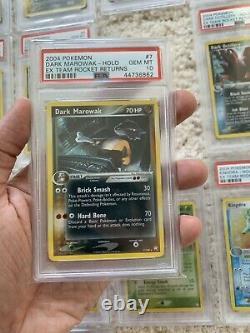 Complete Regular Holo Set PSA 10 Ex Team Rocket Returns Pokemon Gem Mint