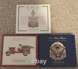 Complete Set / Lot (39) White House Historical Association Ornaments 1981 2019