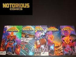Cosmic Ghost Rider 1-5 Complete Comic Lot Run Set Donny Cates Thanos Marvel