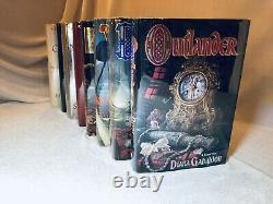 Diana Gabaldon 1-8 1st/1st Outlander Collection Series Complete Set Lot