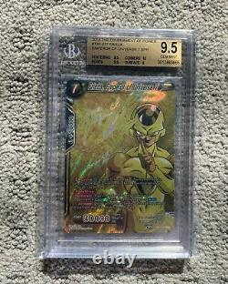 Dragon Ball Super Partially Complete Signature Set All Strong Bgs 9.5 Gem Mint