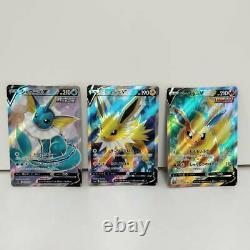 Eevee Heroes V SR Evolution line Complete set Pokemon Card S6a Japanese Mint