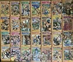 FAIRY TAIL Vol. 1- 63 complete set lot Manga Japanese Comics