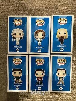 FUNKO POP FRIENDS Complete Lot Set 1st Rachel Ross Monica Chandler Joey Phoebe
