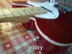 Fender Deluxe Thinline Telecaster Totally Mint With Recent Complete Set Up