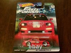 Hot Wheels 2019 Premium Original Fast & Furious Complete Box Set (Lot of 5) NEW