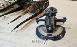 Huge Lego Star Wars Lot 4 Large Vintage Sets 98% complete Falcon, Xwing, etc