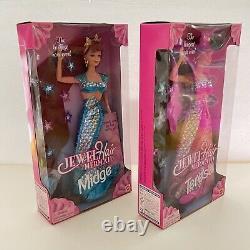 Jewel Hair Mermaid Longest Hair (1995) Barbie, Midge, Teresa COMPLETE Set of 4
