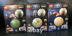 LEGO Star Wars planet full complete series set lot 1-4 1 2 3 4 9674-79 75006-11