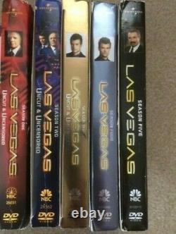 Las Vegas Complete Series 1-5 Set Seasons 1 2 3 4 5 DVD lot Region 1
