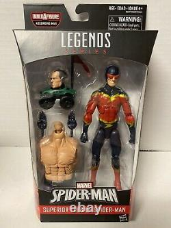Lot 7 Marvel Legends Spider-Man Wave Absorbing Man BAF Complete Set. New