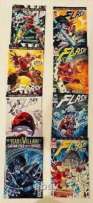 Lot Of 73 Flash DC Rebirth #1-85 Complete Set (-14) Joshua Williamson 2016-2020