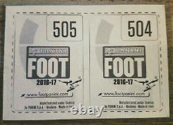 Lot Set Complet Panini Foot 2016-2017 + Set Transfert Mbappé Rookie 504-505 PSA