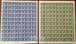 Lot Stamp Germany 21 Sheet 1941 WWII Fascism War Era Hitler Complete Set MNH