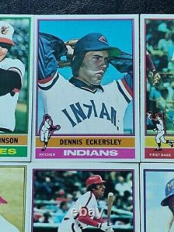 Lot of 16 Sets 1976 1977 1978 1979 1980 1991 Topps Baseball Complete Set Run